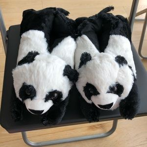 Shoes - Brand new panda slippers